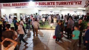 AK Partinin Urfa'daki İlk Seçim Bürosu Açıldı