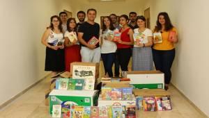 Akdeniz Üniversitesinden Şanlıurfa'ya Kitap Yardımı