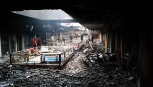 Avrupa Pasajında Yangın, 100 İş Yeri Etkilendi