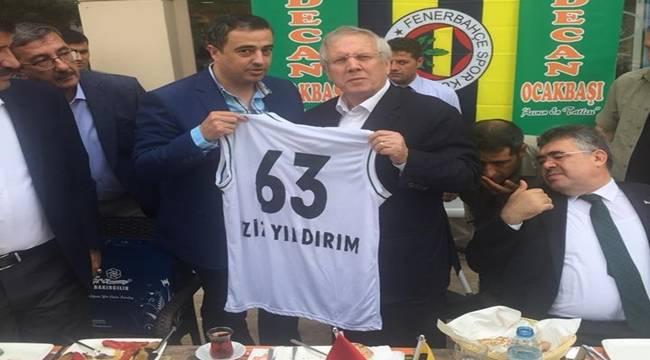 Aziz Yıldırım Urfa'da Transfer Yaptı