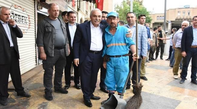 Bakan Fakıbaba Urfa Esnafını Ziyaret Etti