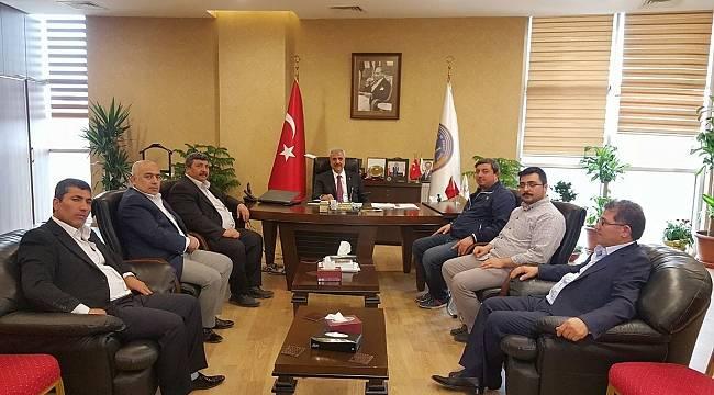 Başkan Güler'den Peltek'e Ziyaret