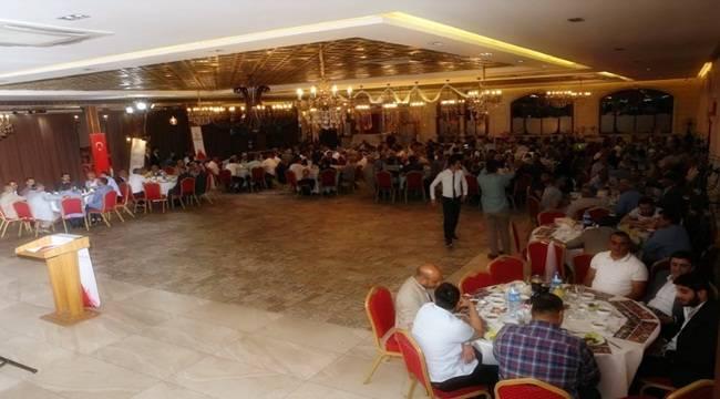 Baydilli 100 Mahalle Muhtarı İle Bir Araya Geldi