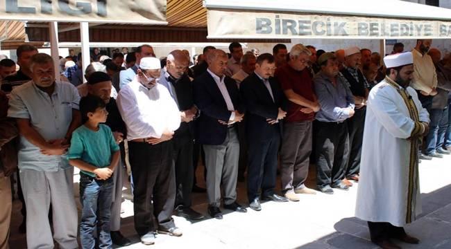 Birecik'te Gıyabi Cenaze Namazı Kılındı