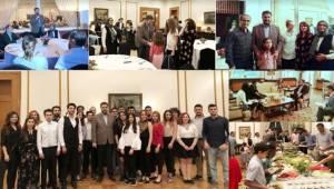 Büyükelçi Önen'in, Türklerle İftar Heyecanı