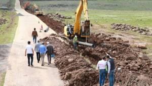 Büyükşehir Siverek'teki yatırımlarını sürdürüyor