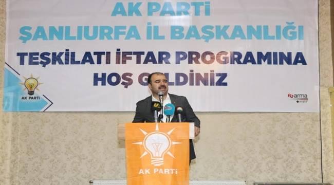 Çiftçi, AK Partililere Seslendi