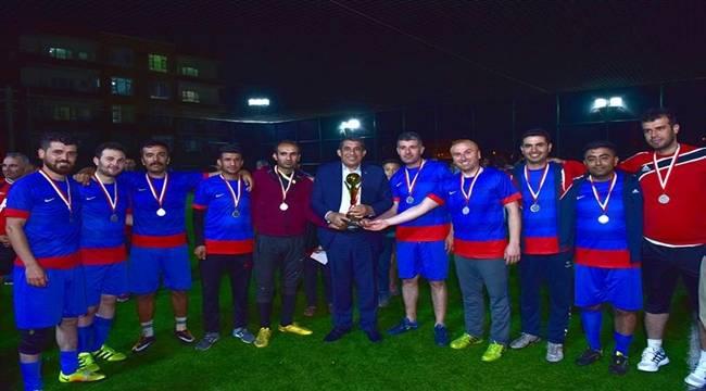Çiğ Köfteli Futbol Turnuvası Final Yaptı