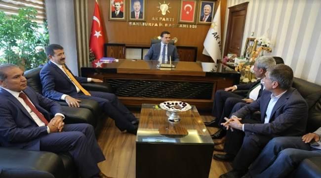 Ekinci'den AK Parti Başkanlıklarına Ziyaret