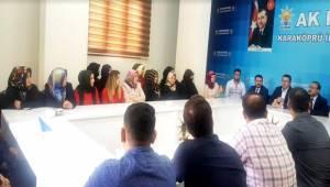 Fatih Aksoy'dan Karaköprü AK Partiye Ziyaret