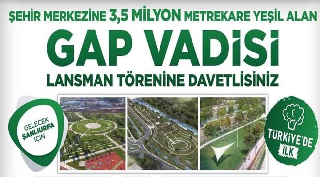 GAP Vadisi Projesi Kamuoyuna Tanıtılıyor