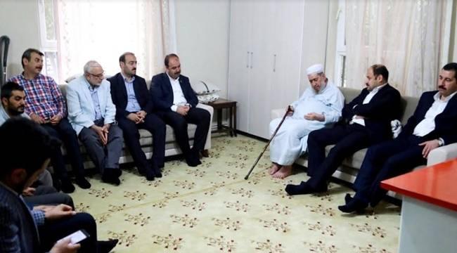 Gülpınar ve Başkanlardan Sabri Yazar Hocaya Ziyaret