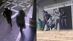 Güvenlik kamerasından tespit edilen hırsızlar yakalandı