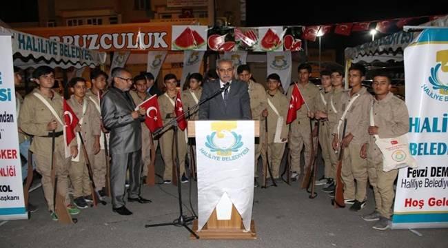 Haliliye'de Çanakkale Ruhu Yaşatılıyor