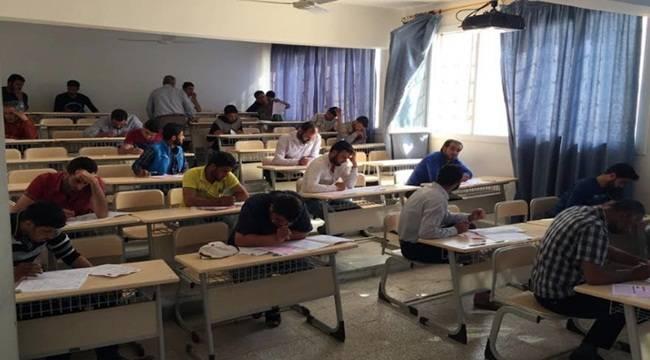 Harran Üniversitesi Suriyelilere Sınav Yaptı