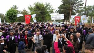 Harran Üniversitesinde Mezuniyet Törenleri Başladı