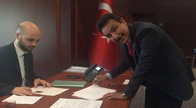 İbrahim Özyavuz AK Parti'den Aday Adayı Oldu