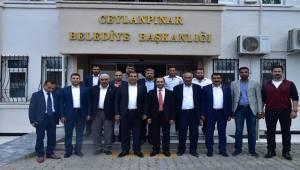 İbrahim Toru Ceylanpınar Belediyesini Ziyaret Etti