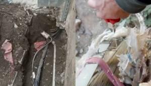 İsot Tarlasında Kaçak Elektrik Hattı Bulundu