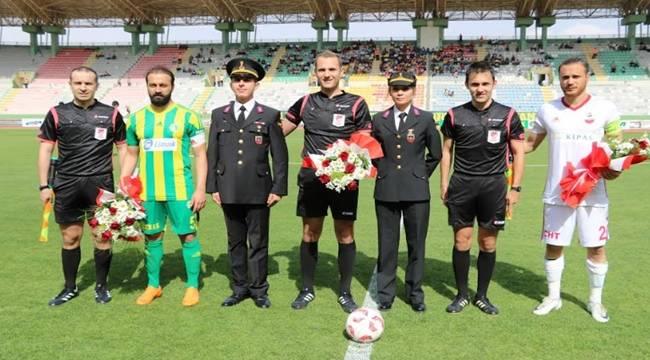 Jandarma'nın 179. yılı Urfaspor Maçı