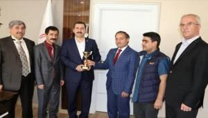 Karaköprü Belediyespor Türkiye Üçüncüsü Oldu