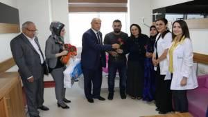 Karaköprü'de Yeni Annelerin Günü Kutlandı