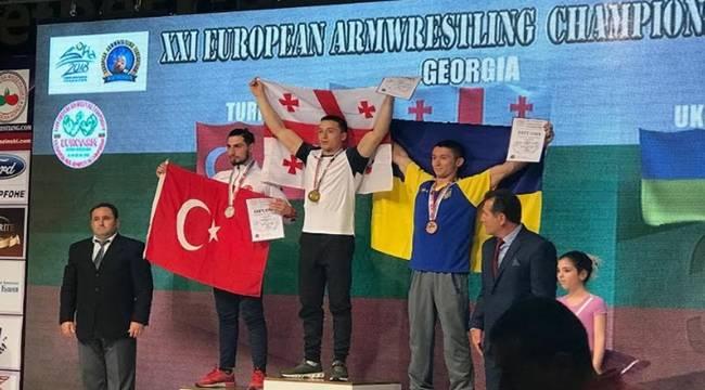 Karaköprülü Sporcu Avrupa İkincisi Oldu