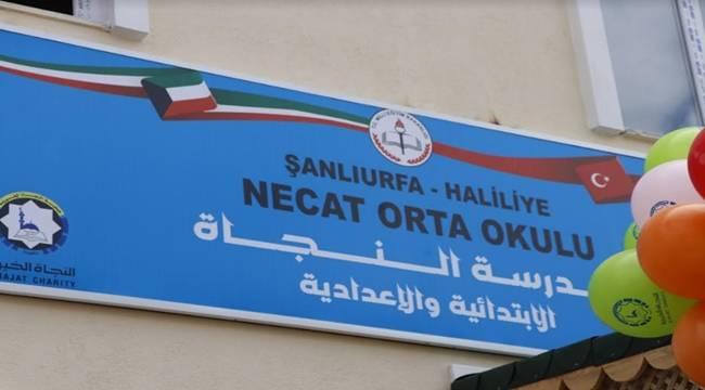 Kuveyt-Türk Orta Okulunun Açılış Töreni Yapıldı