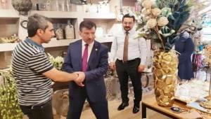 Mehmet Ali Cevheri Haliliye Esnafını Ziyaret Etti