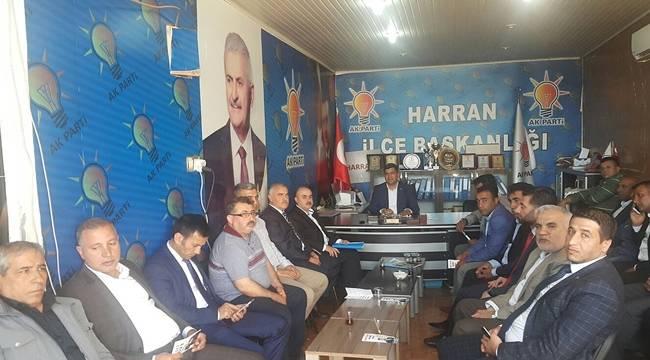 Mehmet Recep Uğur Teşkilatları Ziyaret Etti