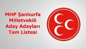MHP Şanlıurfa Aday Adayları Tam Listesi