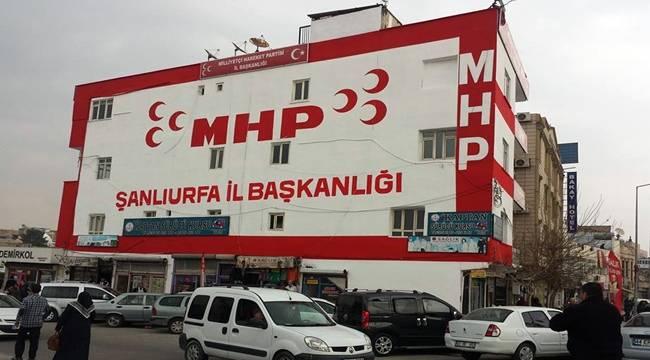 MHP Şanlıurfa'da İstifa Depremi, Liste Değişti
