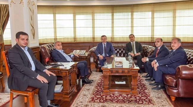 Perçi'den Bakan Fakıbaba'ya Ziyaret