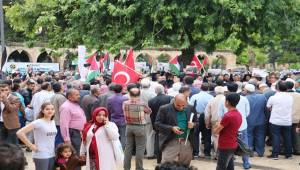 Şanlıurfa'da İsrail ve ABD Protestosu