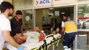 Şanlıurfa'da motosiklet kazası: 2 yaralı