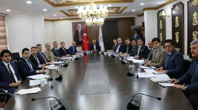Şanlıurfa'da Seçim Güvenliği Toplantısı Yapıldı
