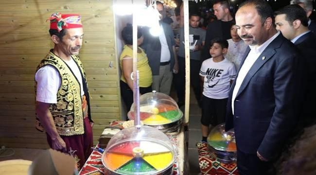 Şanlıurfa Ramazan Sokağı Yoğun ilgi Görüyor
