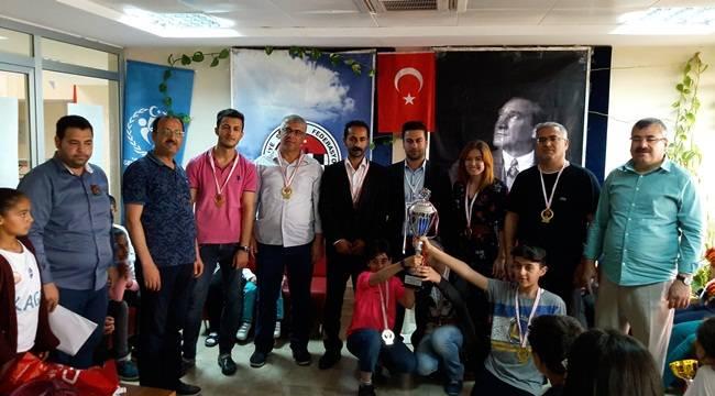 Şanlıurfa Satranç Liginin Şampiyonu Ceylanpınar Oldu