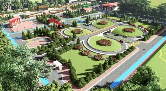 Şanlıurfa'ya Türkiye'nin en büyük Çocuk Trafik Parkı