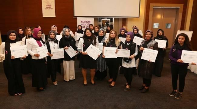 Şanlıurfalı Girişimci Kadınlar Sertifikalarını Aldı