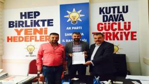 Sedat Denek AK Parti Aday Adayı Oldu