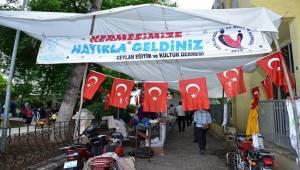 Semerkand Vakfı Ceylanpınar'da Kermes Açtı