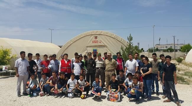 Suriyeli Çocuklara Trafik Eğitimi