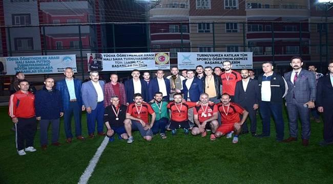 TÜGVA Futbol Turnuvası'nda Takımlar Değil Dostluk Kazandı