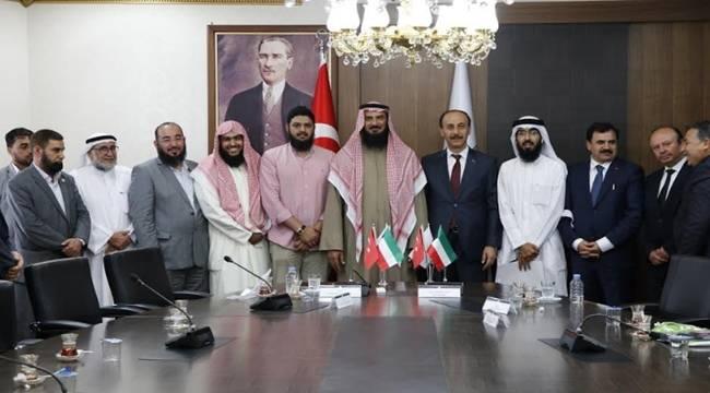 Türkiye Kuveyt Dostluğu Şanlıurfa'da Zirve Yaptı