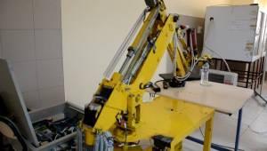 Urfa'da 5 Eksenli Milli Bir Robot Tasarlandı