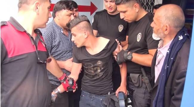 Urfa'da Yankesiciyi Linç Edilmekten Polis Kurtardı