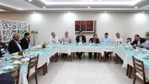 Urfa'daki Sulama birlikleri İftarda Toplantı