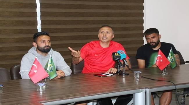 Urfaspor Teknik Direktörü Taşyürek'ten Flaş Açıklamalar