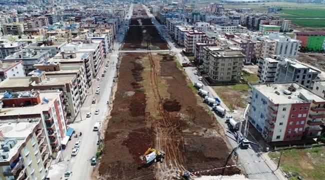 Viranşehir Şehir Parkının Temeli Atıldı